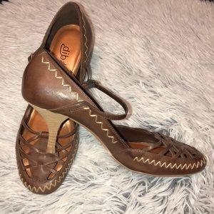 Brown Diba High Heel Mary Jane (Used)